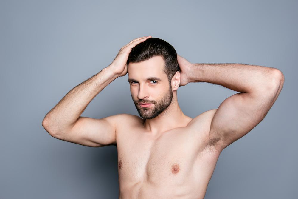 男の脇の脱毛は恥ずかしいこと?男性の脇脱毛について